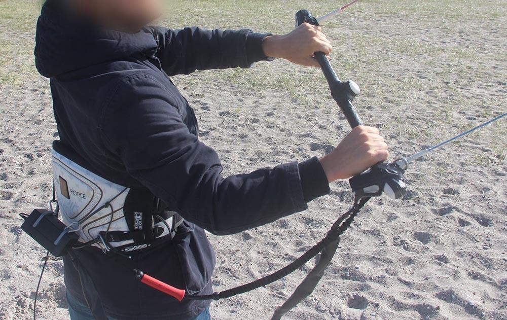 kiteboarding bar prototype